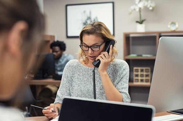 Calling client