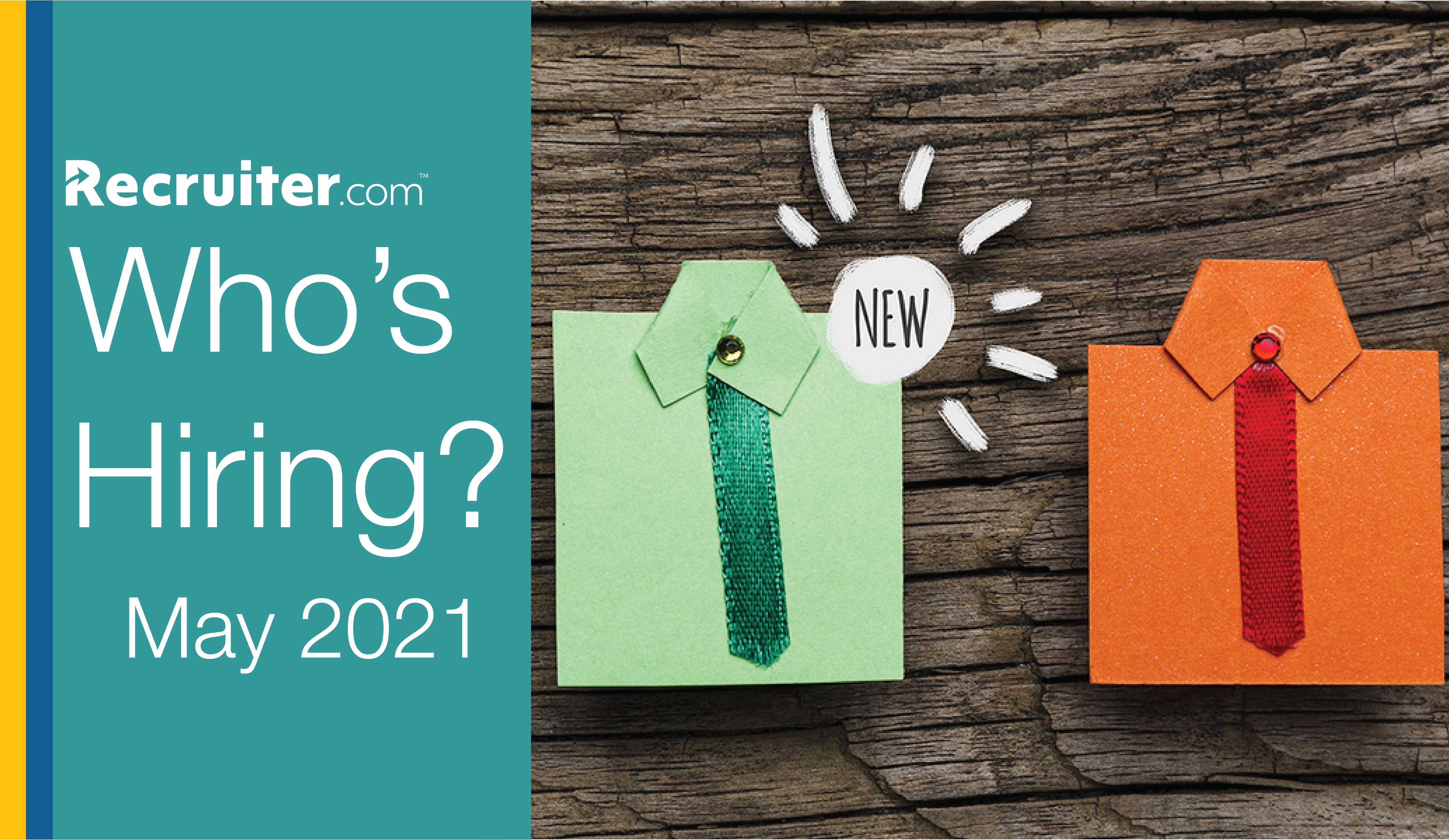 Companies Hiring May 2021